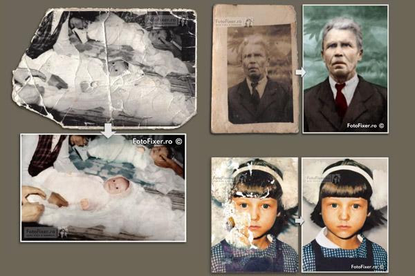 Cover portofoliu restaurare fotografii vechi colorizare reparare poze - Home - FotoFixer