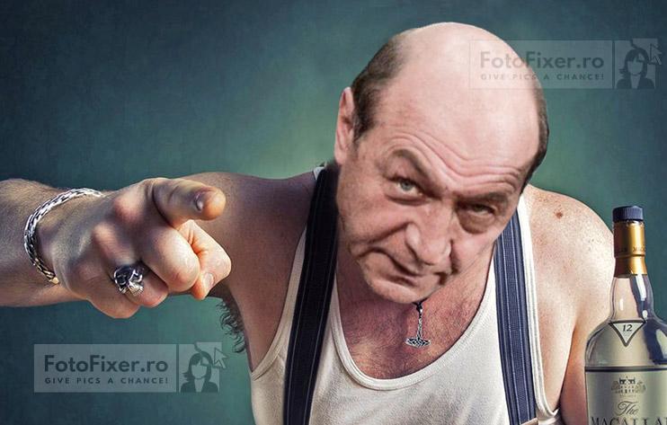 basescu nervos in maiou - Trucaje foto – portofoliu - FotoFixer