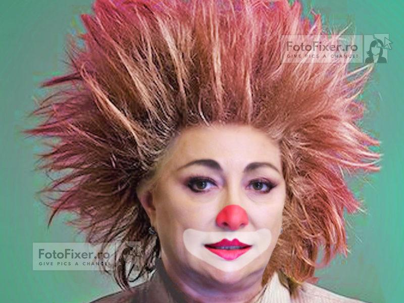 dancila clown 800x600 - Trucaje foto – portofoliu - FotoFixer