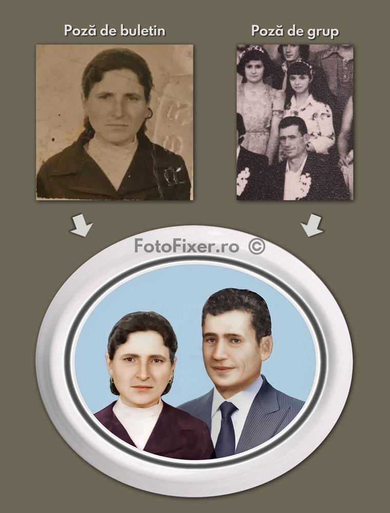 poza monument funerar cruce fotofixer lipite 1 1 - Restaurare fotografii vechi – exemple - FotoFixer