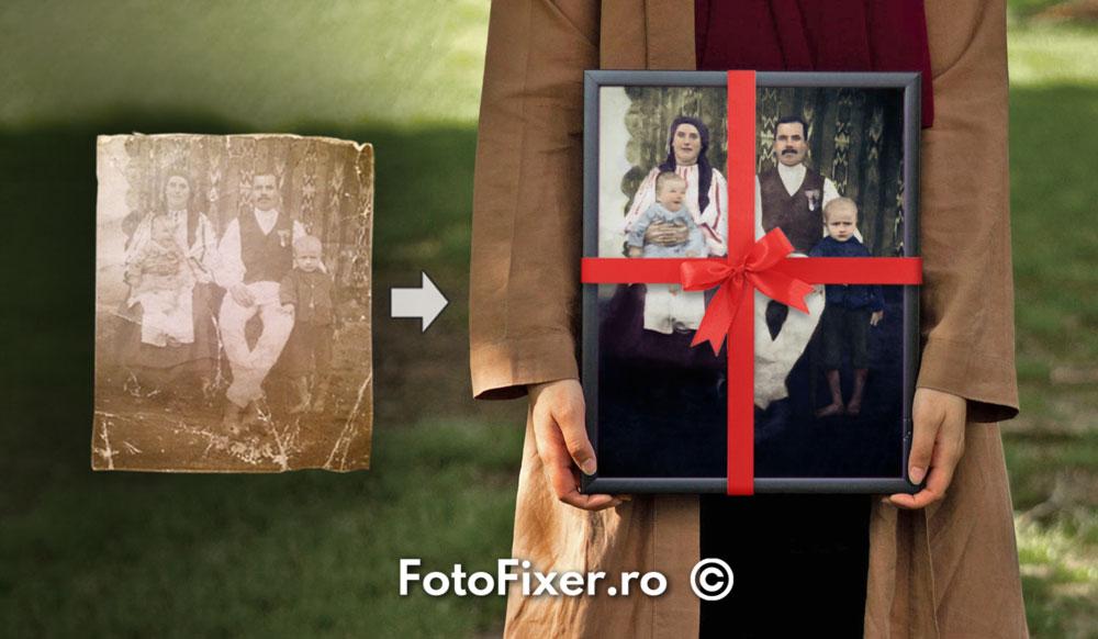 femeie cadou fotofixer v3 - cadouri pentru bunici - FotoFixer