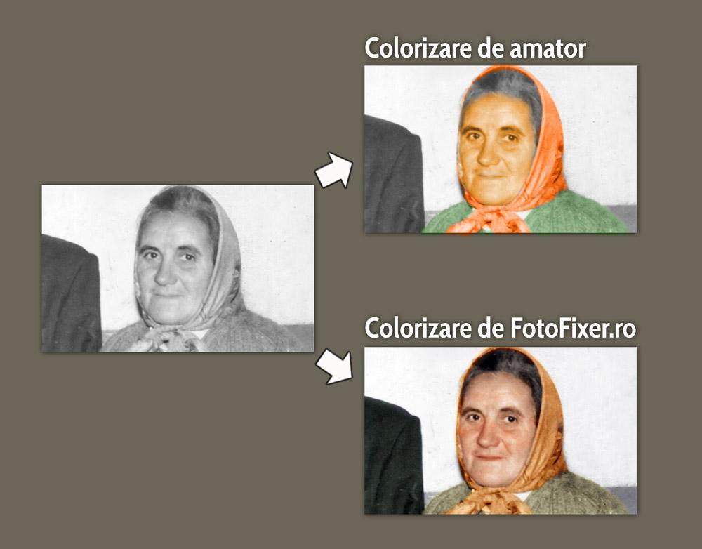 colorare fotografii vechi compara  ie colorizare poze vechi - Editare poze - FotoFixer