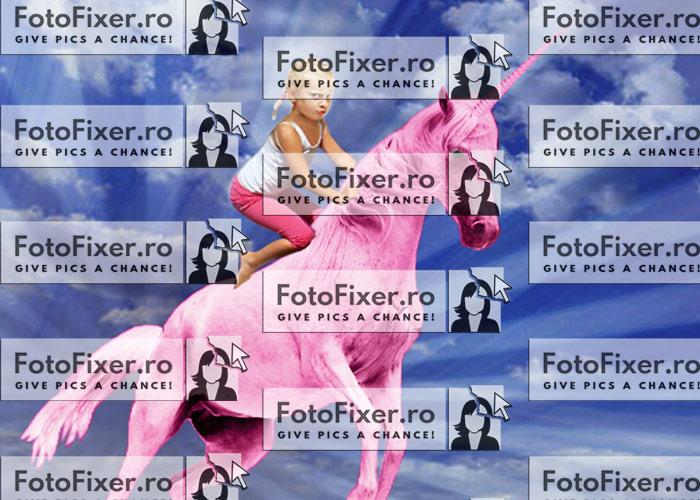 trucaj cadou pentru cadouri personalizate inorog fotofixer - Cadouri personalizate – poze și trucaje de imprimat - FotoFixer