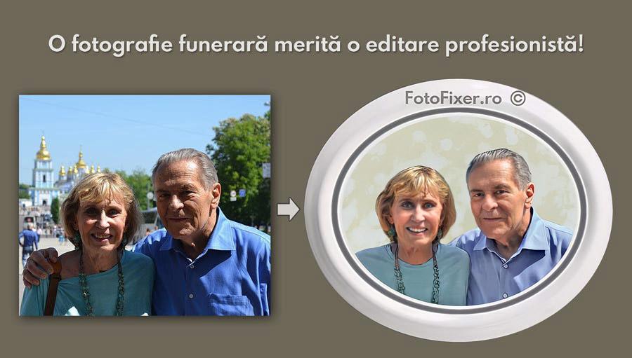 fotoceramica fotografie funerara cuplu turisti - Fotografii funerare, fotoceramica - FotoFixer