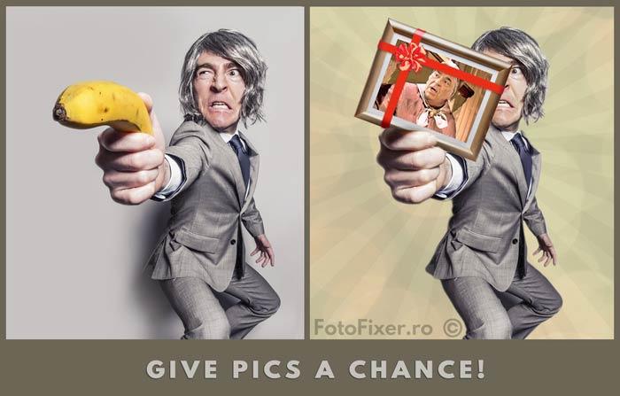 editare poze banana - Editare poze - FotoFixer