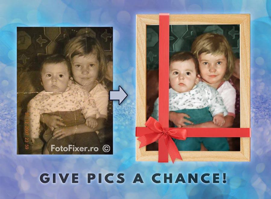 cadouri personalizate fotografie veche retusare colorare 2 - Cadouri personalizate, cadouri unice și emoționante cauți? Iată ideea: - FotoFixer